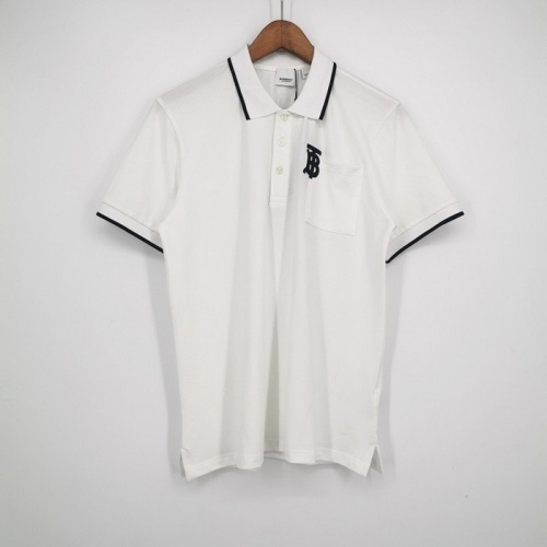 Burberry T-Shirts Short Sleeved Polo For Men #752180