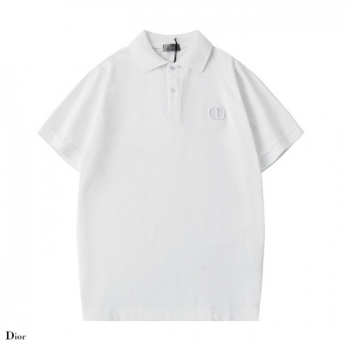 Dior T-Shirts Short Sleeved Polo For Men #752217