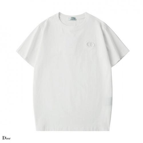Dior T-Shirts Short Sleeved O-Neck For Men #752227