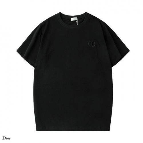 Dior T-Shirts Short Sleeved O-Neck For Men #752228
