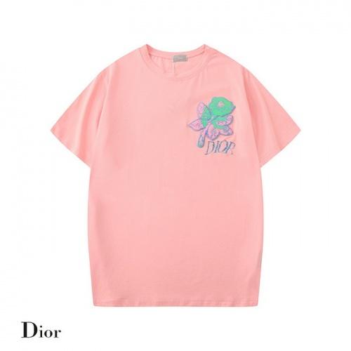 Dior T-Shirts Short Sleeved O-Neck For Men #752233