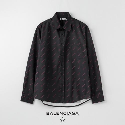 Balenciaga Shirts Long Sleeved Polo For Women #752568