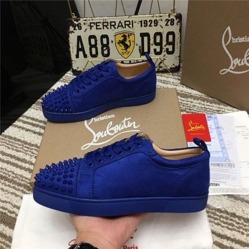 Replica Christian Louboutin Casual Shoes For Men #752666 $78.57 USD for Wholesale