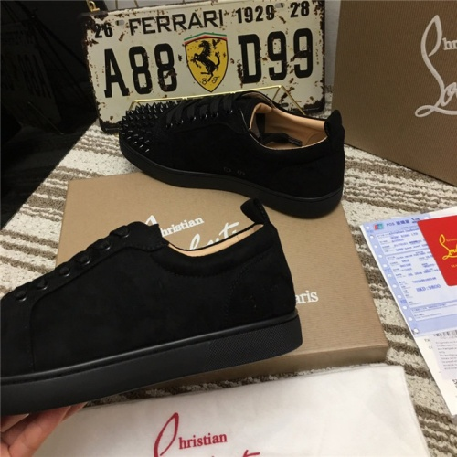 Replica Christian Louboutin Casual Shoes For Men #752668 $78.57 USD for Wholesale