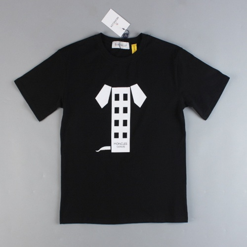 Moncler T-Shirts For Unisex Short Sleeved O-Neck For Unisex #752814
