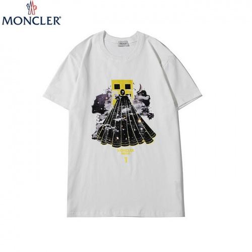 Moncler T-Shirts Short Sleeved O-Neck For Men #752841