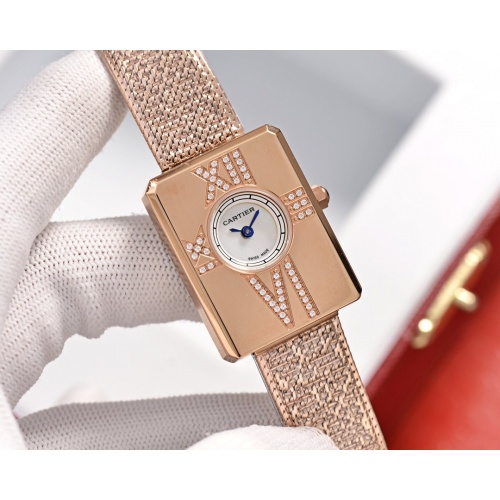 Cartier AAA Quality Watches For Women #752881