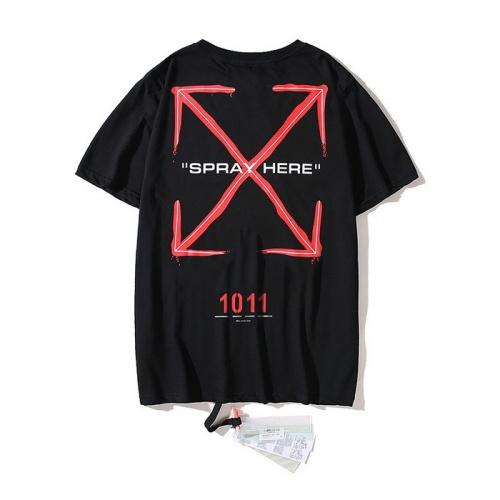 Off-White T-Shirts Short Sleeved O-Neck For Men #752971