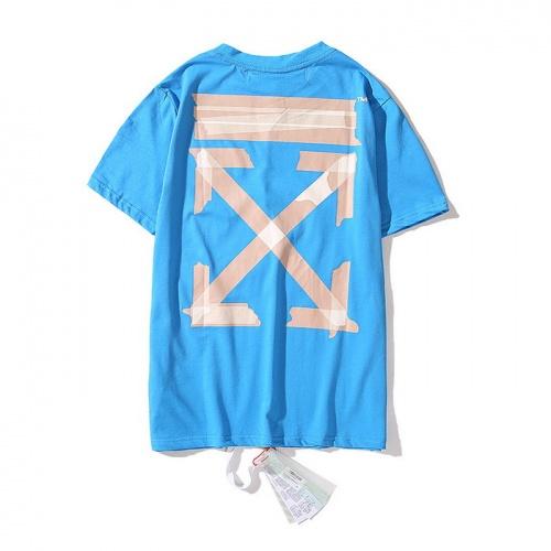 Off-White T-Shirts Short Sleeved O-Neck For Men #752981