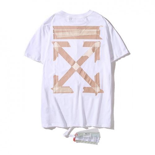 Off-White T-Shirts Short Sleeved O-Neck For Men #752985