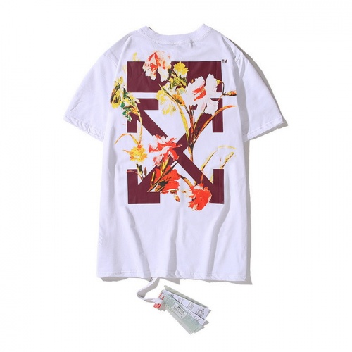 Off-White T-Shirts Short Sleeved O-Neck For Men #753004