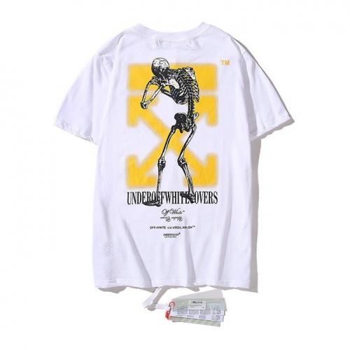 Off-White T-Shirts Short Sleeved O-Neck For Men #753009