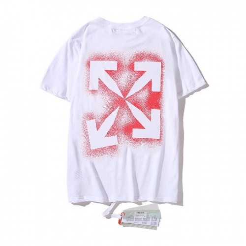 Off-White T-Shirts Short Sleeved O-Neck For Men #753040