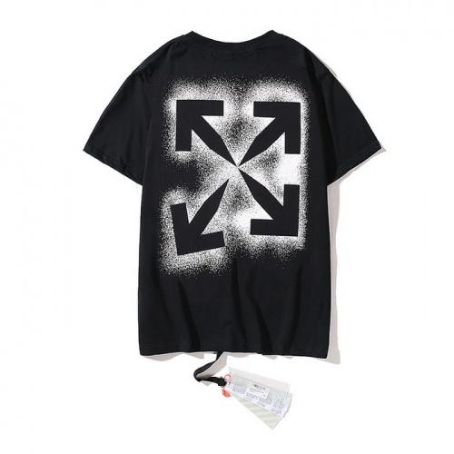 Off-White T-Shirts Short Sleeved O-Neck For Men #753041
