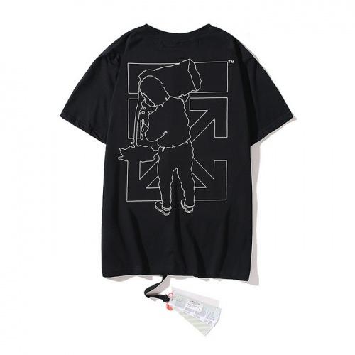 Off-White T-Shirts Short Sleeved O-Neck For Men #753043