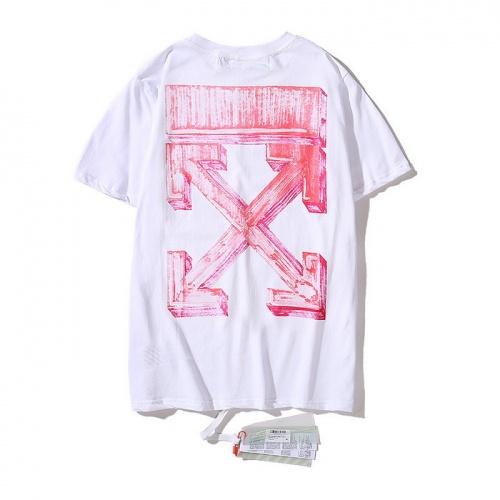 Off-White T-Shirts Short Sleeved O-Neck For Men #753051