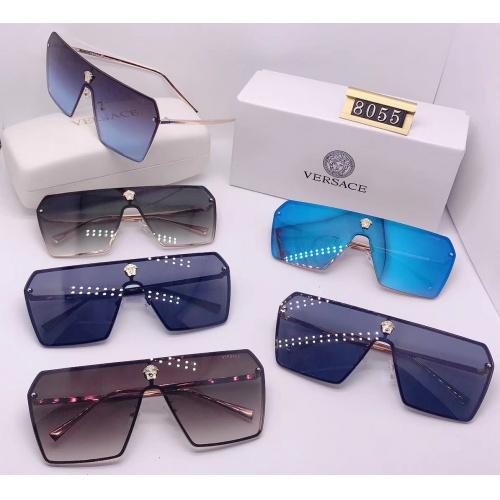 Replica Versace Fashion Sunglasses #753056 $27.16 USD for Wholesale