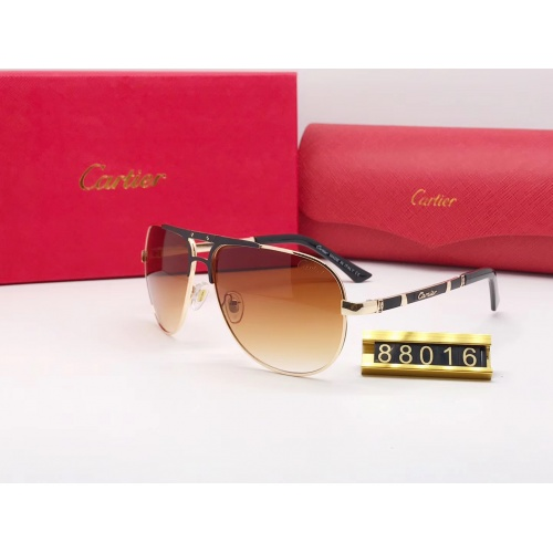 Cartier Fashion Sunglasses #753080