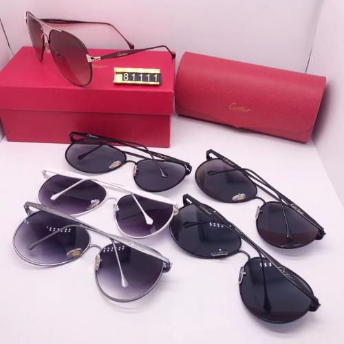 Replica Cartier Fashion Sunglasses #753094 $24.25 USD for Wholesale