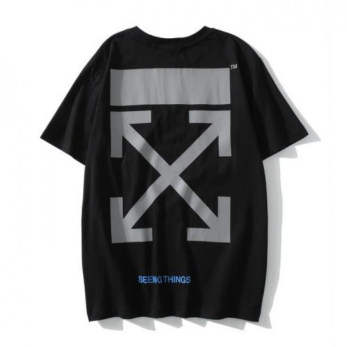 Off-White T-Shirts Short Sleeved O-Neck For Men #753097