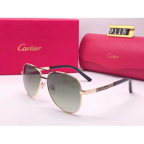Cartier Fashion Sunglasses #753102