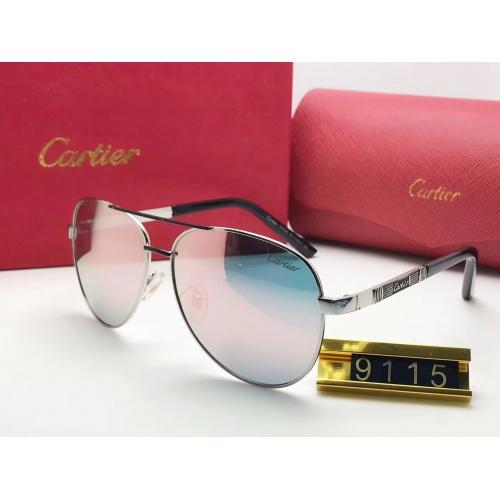 Cartier Fashion Sunglasses #753104