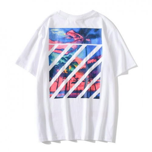 Off-White T-Shirts Short Sleeved O-Neck For Men #753105