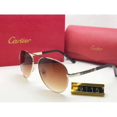 Cartier Fashion Sunglasses #753107