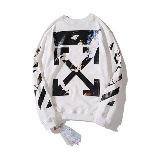 Off-White Hoodies Long Sleeved O-Neck For Men #753125
