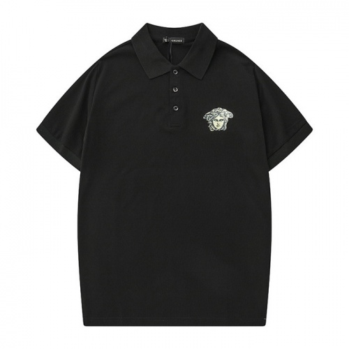 Versace T-Shirts Short Sleeved Polo For Men #753144