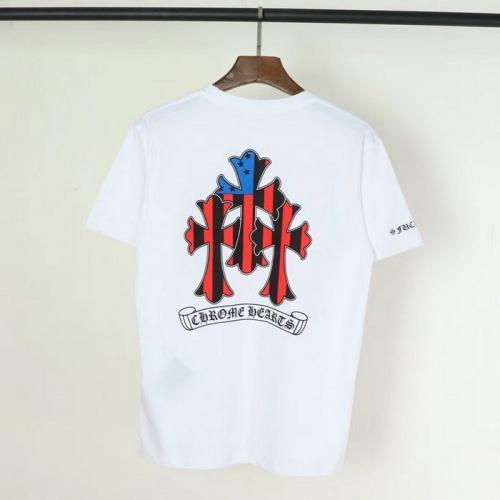 Chrome Hearts T-Shrits Short Sleeved O-Neck For Men #753286