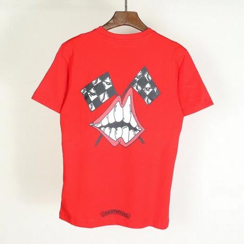 Chrome Hearts T-Shrits Short Sleeved O-Neck For Men #753297