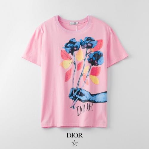 Dior T-Shirts Short Sleeved O-Neck For Men #753320