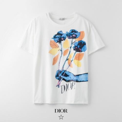 Dior T-Shirts Short Sleeved O-Neck For Men #753322