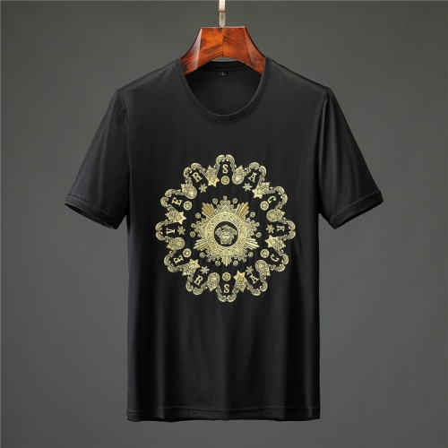 Versace T-Shirts Short Sleeved O-Neck For Men #753324