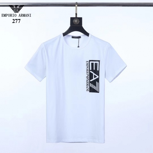 Armani T-Shirts Short Sleeved O-Neck For Men #753346