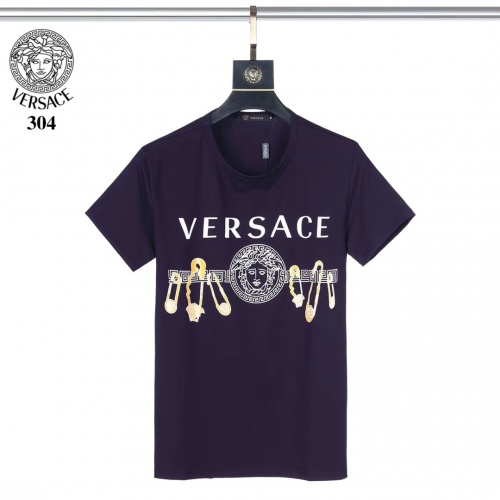 Versace T-Shirts Short Sleeved O-Neck For Men #753396