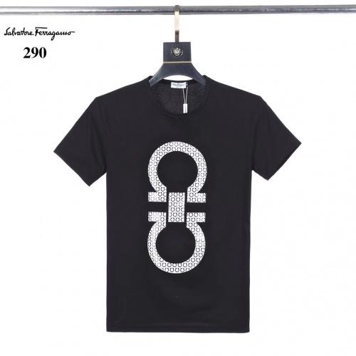 Ferragamo Salvatore FS T-Shirts Short Sleeved O-Neck For Men #753403