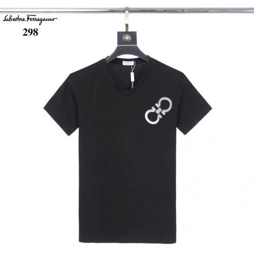 Ferragamo Salvatore FS T-Shirts Short Sleeved O-Neck For Men #753407