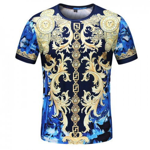 Versace T-Shirts Short Sleeved O-Neck For Men #753423