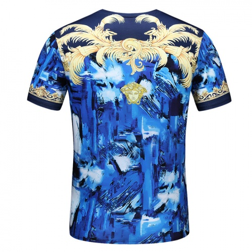 Replica Versace T-Shirts Short Sleeved O-Neck For Men #753423 $25.22 USD for Wholesale