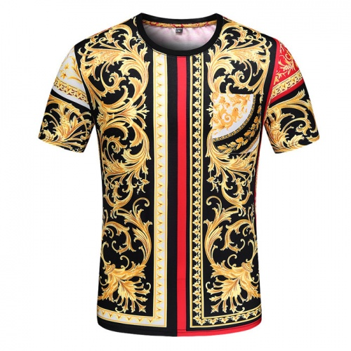 Versace T-Shirts Short Sleeved O-Neck For Men #753425 $25.22 USD, Wholesale Replica Versace T-Shirts