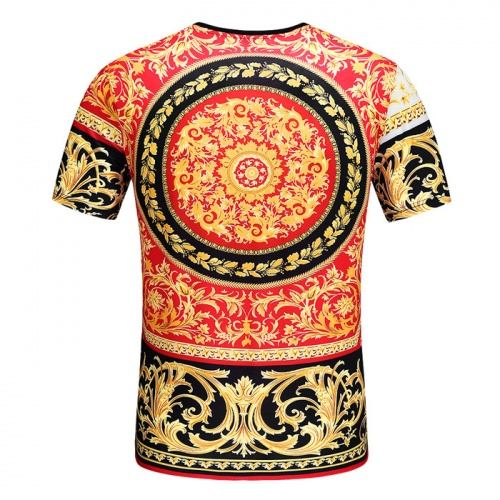 Replica Versace T-Shirts Short Sleeved O-Neck For Men #753425 $25.22 USD for Wholesale