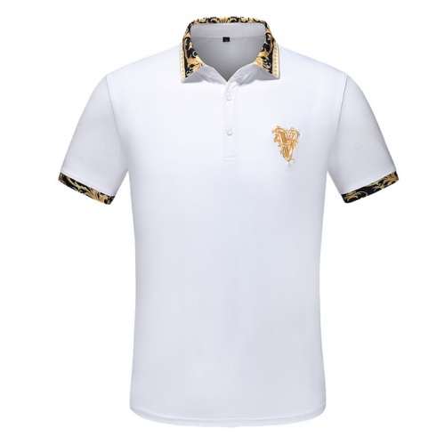Versace T-Shirts Short Sleeved Polo For Men #753427