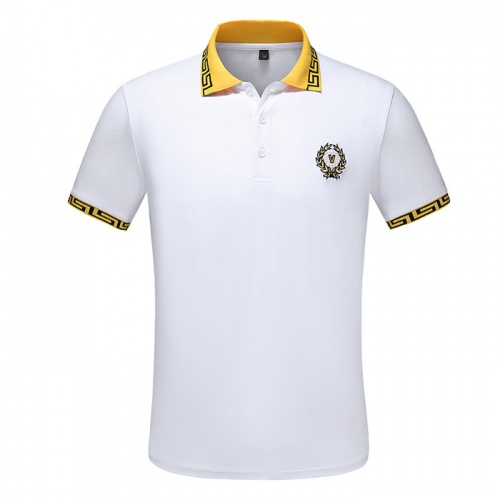 Versace T-Shirts Short Sleeved Polo For Men #753429