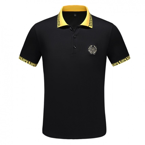 Versace T-Shirts Short Sleeved Polo For Men #753430