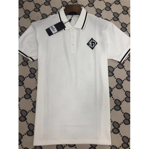 Dolce & Gabbana D&G T-Shirts Short Sleeved Polo For Men #753441