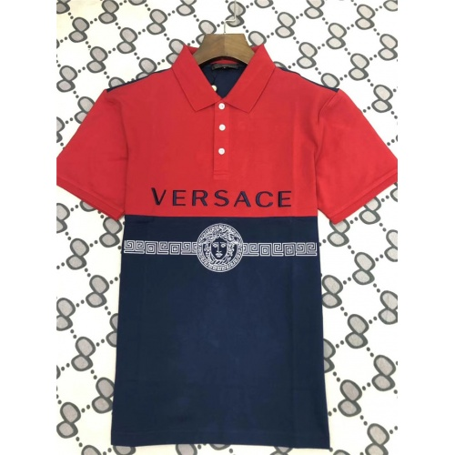 Versace T-Shirts Short Sleeved Polo For Men #753548