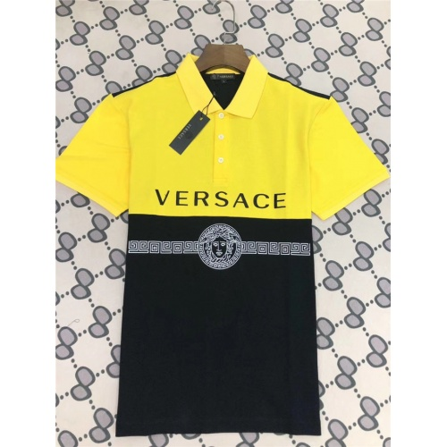 Versace T-Shirts Short Sleeved Polo For Men #753554
