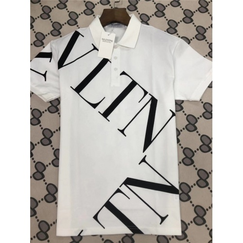 Valentino T-Shirts Short Sleeved Polo For Men #753576